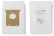 DVC Micro-Lined Paper Replacement Bags Fit Eureka, Electrolux, Sanitaire Style OX, Style S, 61230F - 4 Bags