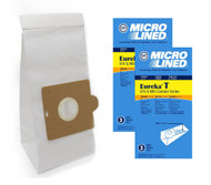 DVC Micro-Lined Paper Replacement Bags Style T Fit Eureka 970 and 980 Canister Models - 6 Bags