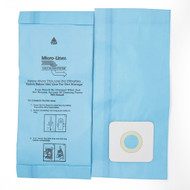DVC Micro-Lined Paper Replacement Bags Style A Fit Riccar 2000/4000 and Simplicity 5000/6000 Series - 12 Bags