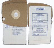DVC Micro-Lined Paper Replacement Bags Style MM Fit Eureka Canister Models 3670 and 3680 Series - 18 Bags