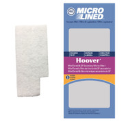 DVC Micro-Lined Replacement Under Bag Secondary Filter 38765019 Hoover WindTunnel Upright Vacuum - 2 Filters