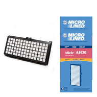 DVC Micro-Lined Replacement Filter 4854916 Miele AH30 S300/S600 Canister Vacuum HEPA - 2 Filters