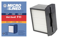 DVC Micro-Lined Replacement Dust Cup Filter 3-LK0540-001 Royal/Dirt Devil F13 Bagless Upright Vacuum HEPA  - 1 Filter