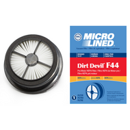 DVC Micro-Lined Replacement Pre-Motor Filter 3-04019-001 Royal/Dirt Devil F44 Upright Vacuum HEPA  - 1 Filter