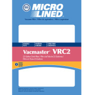 DVC Micro-Lined Replacement Cloth Filter CVRC2 Shop Vac Vacmaster Vacuum  - 3 Filters