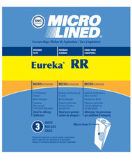 DVC Micro-Lined Paper Replacement Bags Style RR Fit Eureka Model 4870 Series - 3 Bags