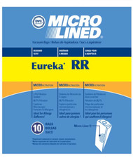 DVC Micro-Lined Paper Replacement Bags Style RR Fit Eureka Model 4870 Series - 10 Bags