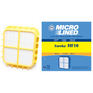 DVC Micro-Lined Replacement Filter HF10 Fits Eureka 8800, 8810, 8850, 8860, 8870 Series Uprights Vac - 1 Filter
