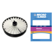 DVC Micro-Lined Replacement Exhaust Filter 59134050 Hoover WindTunnel Canister Bagless Vacuum - 1 Filter