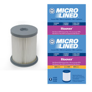 DVC Micro-Lined Replacement Dust Cup Filter 59157055 Hoover Elite Rewind Vacuum HEPA - 2 Filters