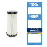 DVC Micro-Lined Replacement Washable Filter 618683 Kenmore DCF5 Quick Clean Bagless Upright Vacuum HEPA - 2 Filters
