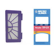 DVC Micro-Lined Replacement Filter 945-0048 Neato XV-21 Pet & Allergy Vacuum - 1 Filter