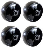 EFP Mower Deck Wheel for MTD 734-04155 fits Troy-Bilt, Yardman, Murray | Replaces Toro 112-0677 - 4 Pack