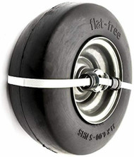 "Arnold 11"" x 4"" Universal Flat Free Wheel Assembly 490-325-0031"