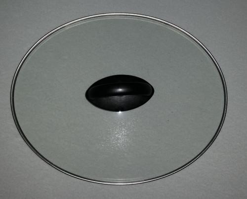 Hamilton Beach Slow Cooker Glass Lid Cover Black 4 Quart