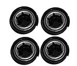 Power Wheels Black Wheel Retainer Cap Nut, 4 Pack