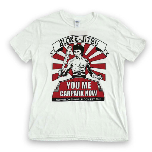 You Me Carpark Now T Shirt - Front