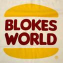 The Blokesworld Burger Shirt - Front artwork