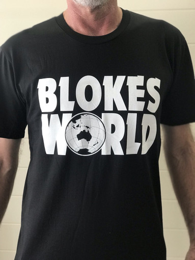 "Brand New 2019 Design The ""Party On Blokesworld"" T Shirt ."
