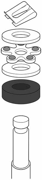 Diagram Instructions For Installing Bearing Kit Washers
