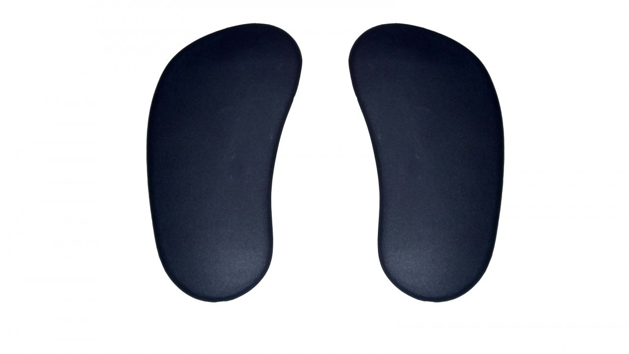 haworth improv he flipper arm pads vinyl gel black