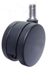 "Office Chair Open Disk Carpet Casters 3""- Heavy Duty"