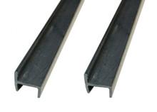 Plastic Slide-On Hanging File Rail For Wooden Drawer Cabinet Left Right Walls