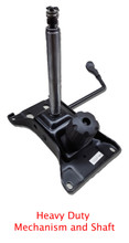 Combination Heavy Duty Seat Tilt and Chair Shock for Office Chairs