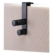 Panel Hung Replacement Coat Hook for Cubicle Double Knob