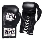 Cleto Reyes Official Fight Boxing Gloves - Black