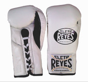 Cleto Reyes Official Fight Boxing Gloves - White