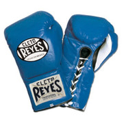 Cleto Reyes Official Fight Boxing Gloves - Blue
