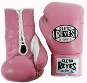 Cleto Reyes Official Fight Boxing Gloves - Pink