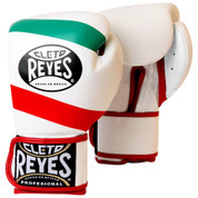Cleto Reyes Hook & Loop Training Gloves - Velcro - Mexican Flag