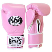 Cleto Reyes Hook & Loop Training Gloves - Velcro - Pink