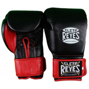 Cleto Reyes Extra Padding Training Gloves - Velcro - Black