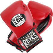 Cleto Reyes Extra Padding Training Gloves - Velcro - Red