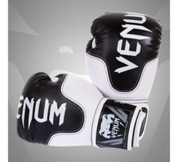 Venum Carbon MMA Sparring Boxing Gloves - Skintex Leather