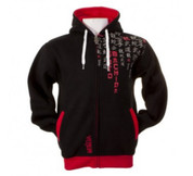 Venum kanji Rain Machida Signature Hoody - Zip Up Hoodie - Black