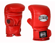 Cleto Reyes Bag Glove with Velcro Closure - Red