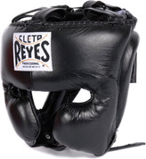 Cleto Reyes Headgear with Cheek Protection - Black
