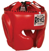 Cleto Reyes Headgear with Cheek Protection - Red