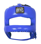 Cleto Reyes Redesigned  Headgear Facesaver w/ Nylon Bar - Blue