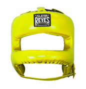 Cleto Reyes Redesigned Headgear Facesaver w/ Nylon Bar - Yellow
