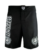 Triumph United MMA Fight Shorts - Saber Black