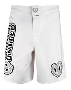 Triumph United MMA Fight Shorts - Saber White