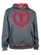 Triumph United Icon Supra Pull Over Hoodie - Charcoal