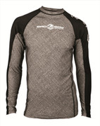Bad Boy Long Sleeve Fight Rash Guard - Grey/Black