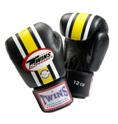 Twins Special Lumpini Boxing Gloves Premium Leather - Lumpini Black