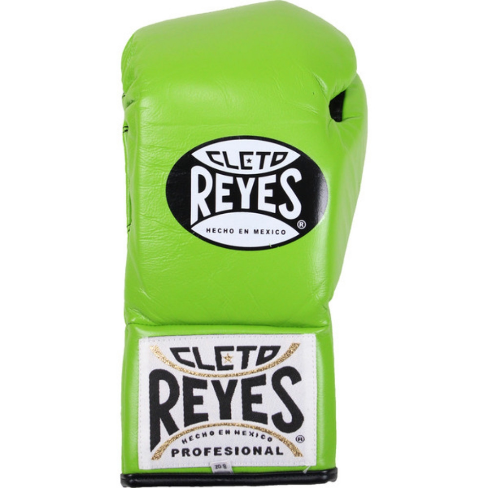 Citrus Green Cleto Reyes Official Leather Lace Up Boxing Gloves